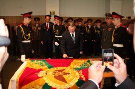 Дорога длиной в сто лет: в Беларусь вернулось знамя Полоцкого кадетского корпуса