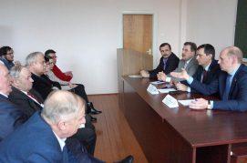 Прошла встреча с депутатами Палаты представителей Национального собрания Республики Беларусь