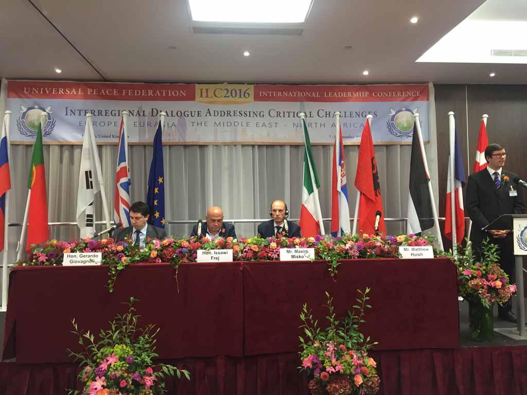 В парламенте Великобритании прошла международная миротворческая конференция 2