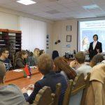 Собрание Молодёжного блока Белорусского фонда мира при Белорусском государственном университете. 4