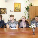 Собрание Молодёжного блока Белорусского фонда мира при Белорусском государственном университете. 5