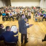 20 октября прошло общественное слушание по вопросу застройки Зелёного Луга. 2