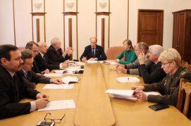 15 декабря 2016 года состоялось заседание рабочей группы по разработке проекта Закона Республики Беларусь «О паралимпийском спорте».