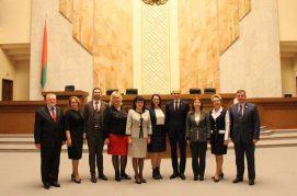Встреча белорусских депутатов с российскими парламентариями