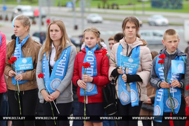 Митинг посвященный Международному дню мира прошел в Минске 2