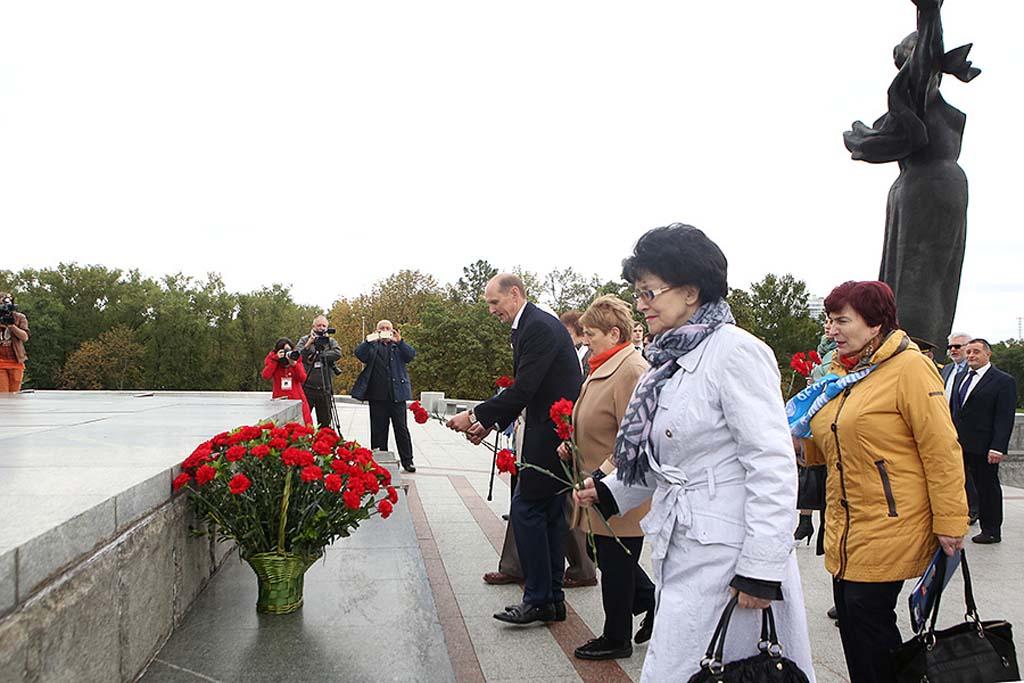 Митинг посвященный Международному дню мира прошел в Минске 9