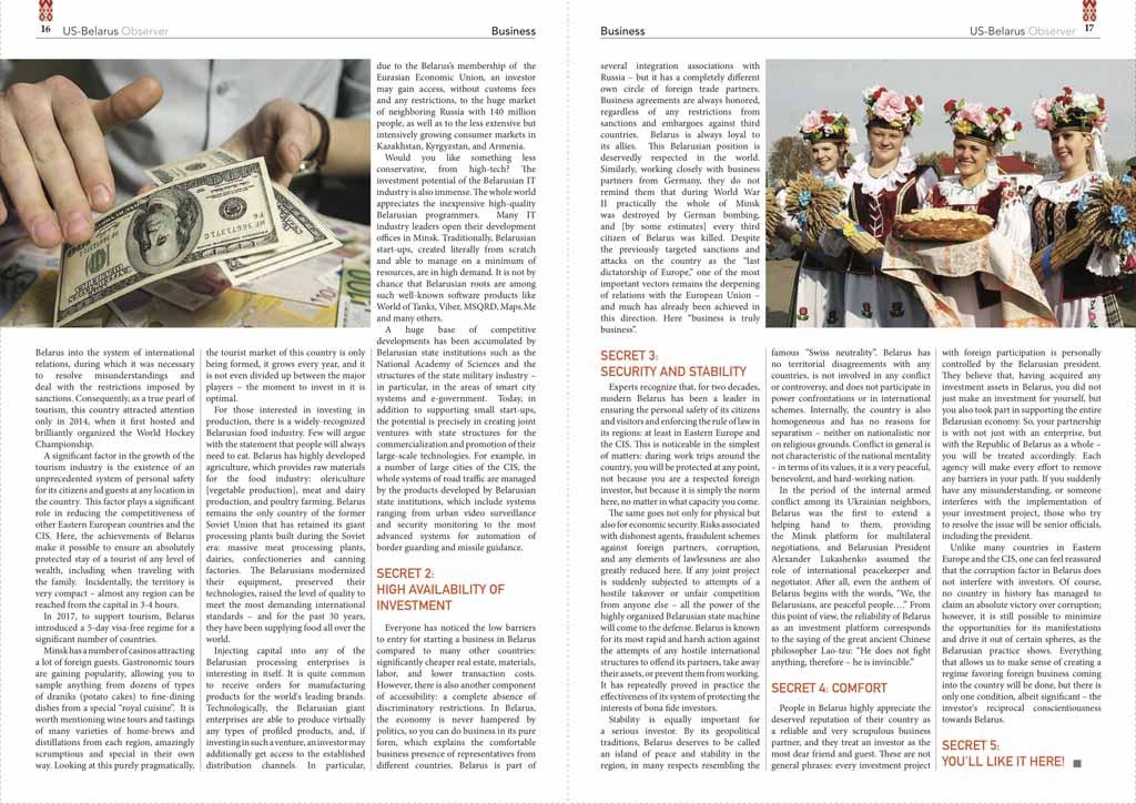 Five secrets of the Belarusian investment phenomenon 2