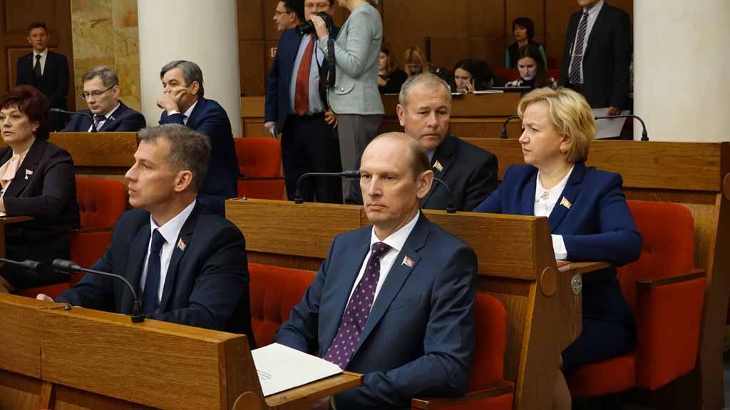 Открытие осенней сессии парламента Беларуси 1