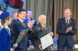 Почётной грамотой Национального собрания Республики Беларусь награждён председатель Гомельского областного отделения общественного объединения «Белорусский фонд мира»