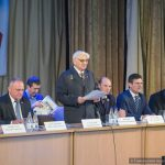 Почётной грамотой Национального собрания Республики Беларусь награждён председатель Гомельского областного отделения общественного объединения «Белорусский фонд мира» 1