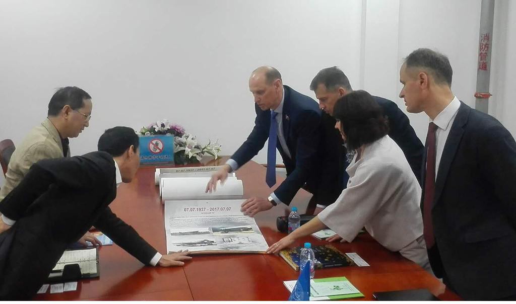 Белорусско-Китайская дружба проверена годами!