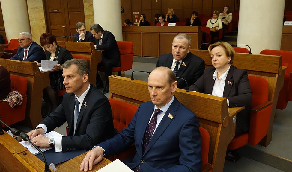 Начала работу четвертая сессия Палаты представителей Национального собрания Республики Беларусь шестого созыва.