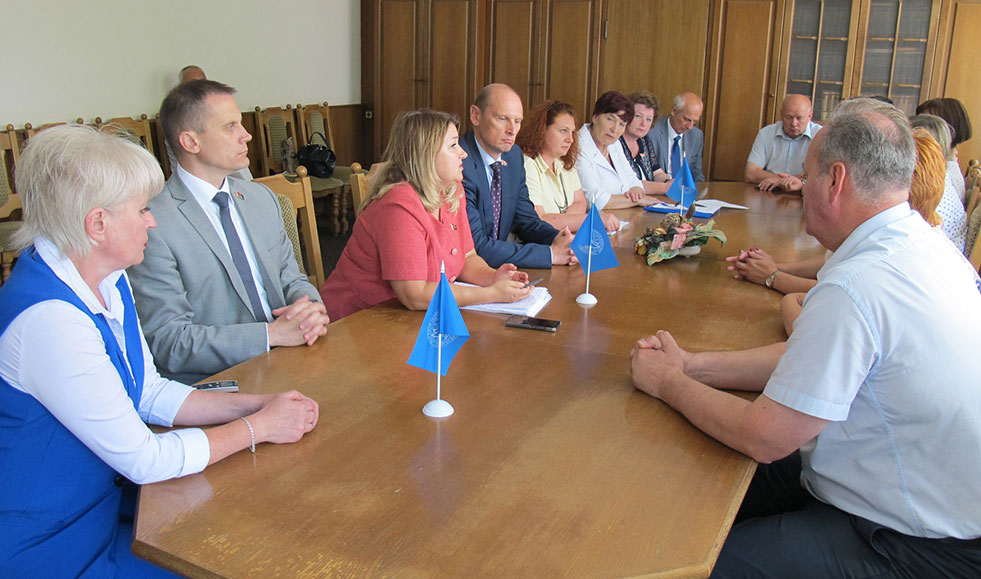 Идеи инклюзивного образования обсудили в Мстиславле
