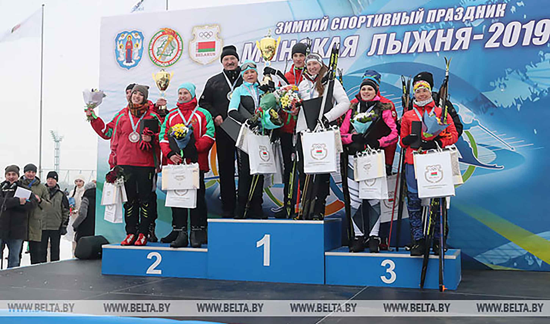 Минская лыжня 2