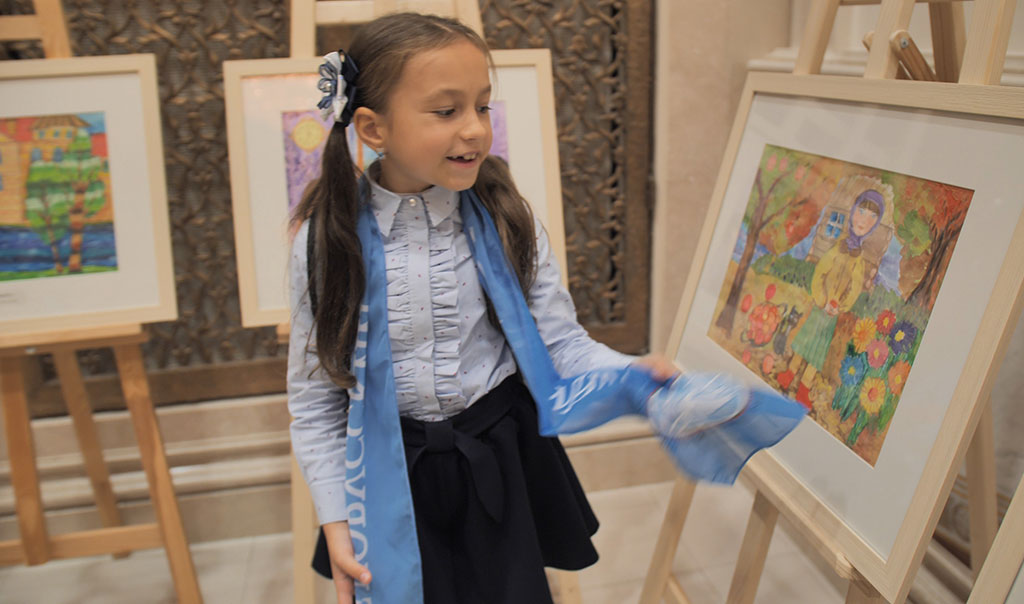 Дети за мир рисунки 2
